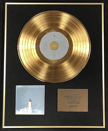 Tori Amos - Exclusive Limited Edition 24 Carat Gold Disc - Under The Pink