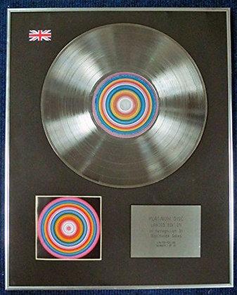 MUSIC - CD Platinum Disc - THE MUSIC