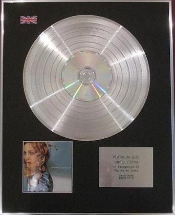 MADONNA - CD Platinum Disc - RAY OF LIGHT