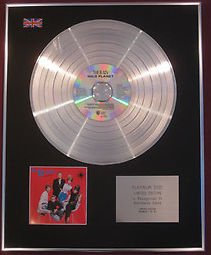 B-52's - CD Platinum Disc -  WILD PLANET