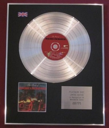 NICK CAVE & THE BAD SEEDS - CD Platinum Disc -THE BEST OF