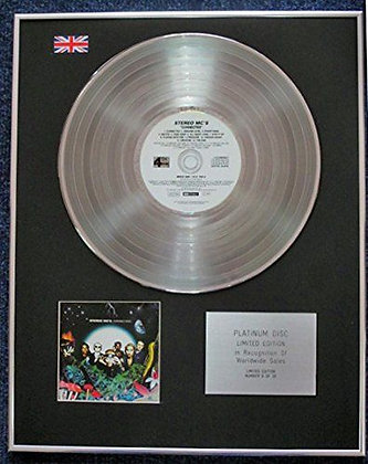 Stereo MCs. - Limited Edition CD Platinum LP Disc - Connected