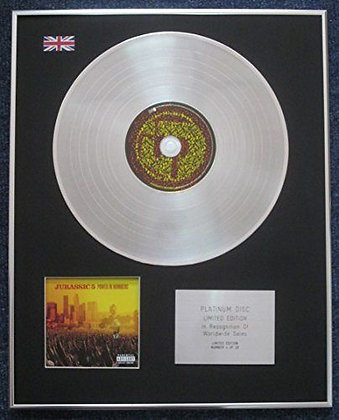JURASSIC 5 - Limited Edition CD Platinum LP Disc - POWER IN NUMBERS
