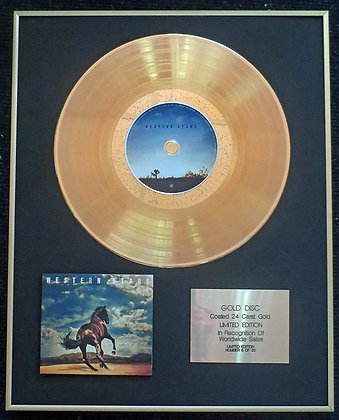 Bruce Springsteen - Exclusive Limited Edition 24 Carat Gold Disc - Western Stars