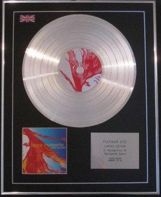 ALANIS MORISSETTE - CD Platinum Disc-UNDER RUG SWEPT