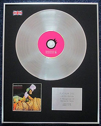 BESSIE SMITH - Limited Edition CD Platinum LP Disc - ANTHOLOGY