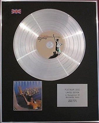 SUPERTRAMP - CD Platinum Disc - BREAKFAST IN AMERICA