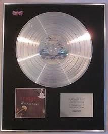 ERASURE - Limited Edition - CD Platinum Disc - WONDERLAND