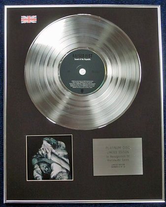 RAISED FIST - Limited Edition CD Platinum Disc - SOUND OF THE REPUBLIC