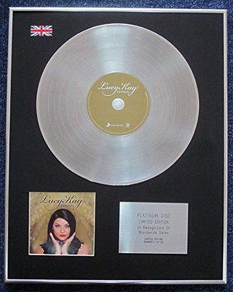 Lucy Kay - Limited Edition CD Platinum LP Disc - Fantasia