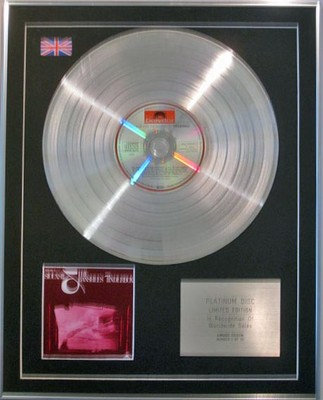 Siouxsie & The Banshees  -  Limited Edition  Platinum Disc  -  Tinderbox