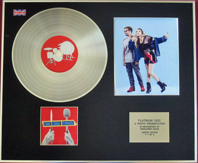 THE TING TINGS - CD Platinum Disc+Photo -WE STARTED NOTHING