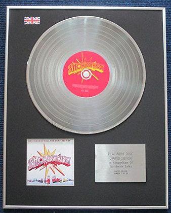 Showaddywaddy - Ltd Edition Cd Platinum Lp Disc  - Hey Rocknroll