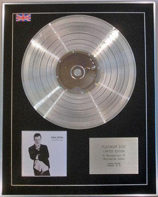 EDWYN COLLINS - Limited Edition CD Platinum Disc - GORGEOUS GEORGE