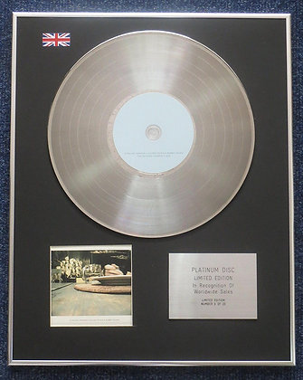 Bobby Brown - Limited Edition CD Platinum LP Disc