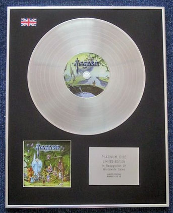 MAGNUM - Limited Edition CD Platinum LP Disc - LOST ON THE ROAD TO ETERNITY