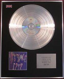PRINCE CD Platinum Disc- 1999