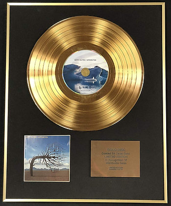 Biffy Clyro - Exclusive Limited Edition 24 Carat Gold Disc - Opposites
