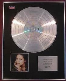 DINA CARROLL - CD Platinum Disc ONLY HUMAN