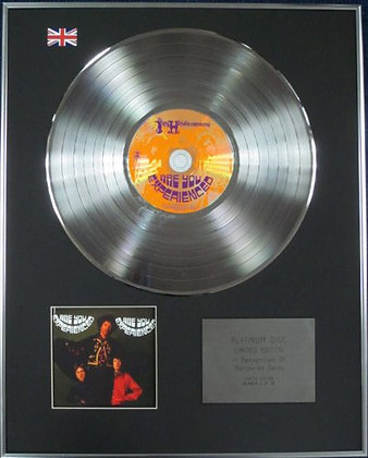 JIMI HENDRIX - Limited Edition CD Platinum Disc - ARE YOU EXPERIENCED