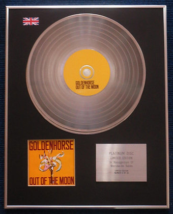 Golden Horse - Limited Edition CD Platinum LP Disc - Out of the Moon