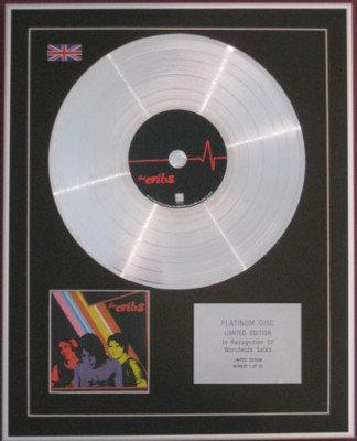 THE CRIBS -Ltd Edition CD Platinum Disc -' THE CRIBS '