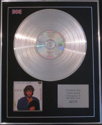 MICHAEL W  SMITH  CD Platinum Disc- GO WEST YOUNG MAN