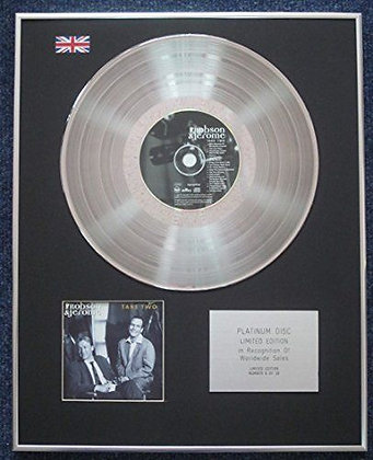 Robson and Jerome - Limited Edition CD Platinum LP Disc - Take two