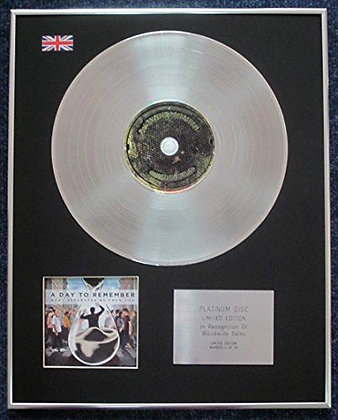 A Day to Remember - CD Platinum LP Disc - What Separates Me from You