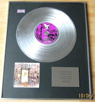 BLACK SABBATH - CD Platinum Disc - MOB RULES