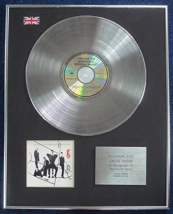 Spandau Ballet - Limited Edition CD Platinum LP Disc - Through the Barricades