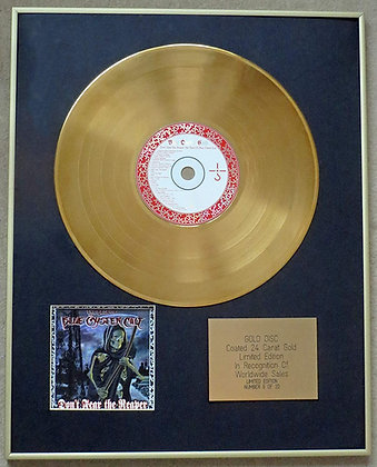 BLUE OYSTER CULT - Exclusive Limited Edition 24 Carat Gold Disc - THE BEST OF
