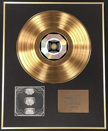 Arcade Fire - Exclusive Limited Edition 24 Carat Gold Disc - Neon Bible