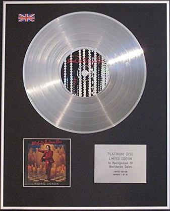 Michael Jackson  - Platinum Disc  - Blood On The Dancefloor