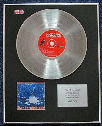 Nick Cave - Limited Edition CD Platinum LP Disc - Murder Ballads