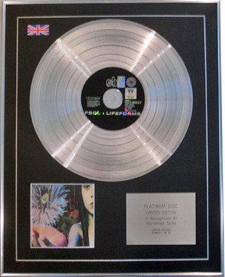 THE FUTURE SOUND OF LONDON  - Ltd Edition CD Platinum Disc