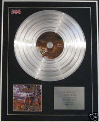 ENSIFERUM - Ltd Edt CD Platinum Disc - IRON