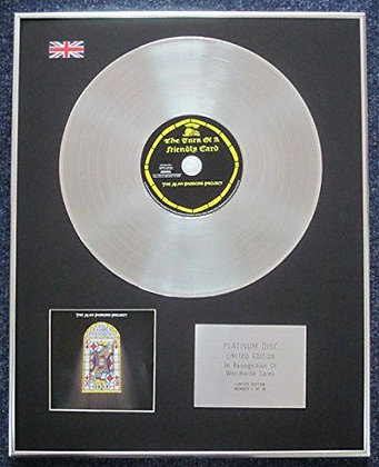 ALAN PARSONS PROJECT - CD Platinum LP Disc - THE TURN OF A FRIENDLY CARD