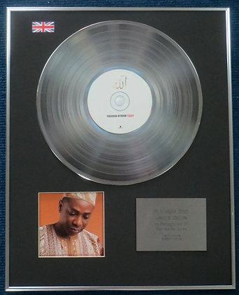 Youssou N Dour - Limited Edition CD Platinum LP Disc - Youssou