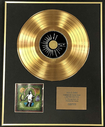 Alice Cooper - Exclusive Limited Edition 24 Carat Gold Disc - The Beast Of