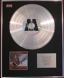 STEVIE WONDER -  CD Platinum Disc - TALKING BOOK