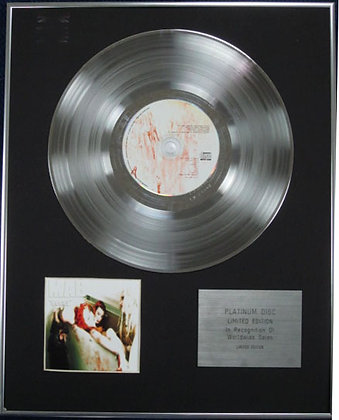 MAB - Limited Edition CD Platinum Disc - DECAY