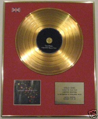 SNOW PATROL-24 Carat CD Gold Disc-HUNDRED MILLION SUNS