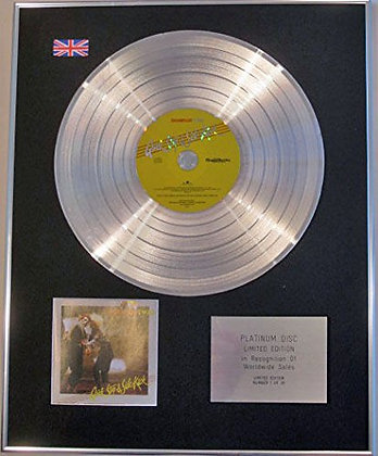 THOMPSON TWINS - Limited Edition CD Platinum Disc - QUICK STEP AND SIDE KICK