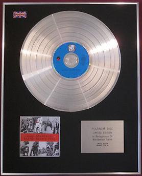 10,000 MANIACS (Ten Thousand Maniacs) CD Platinum Disc- BLIND MAN'S ZOO