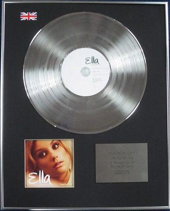 ELLA HENDERSON - Limited Edition CD Platinum Disc - CHAPTER ONE