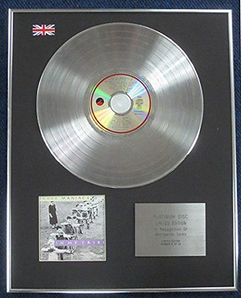 10,000 Maniacs - Limited Edition CD Platinum LP Disc - In My Tribe