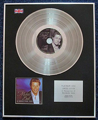 Michael Ball - Limited Edition CD Platinum LP Disc - A Song for You Vol 3