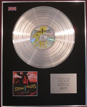 STONE TEMPLE PILOTS -  CD Platinum Disc - CORE