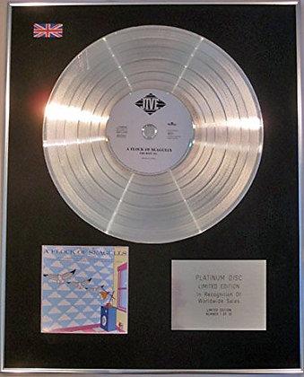 FLOCK OF SEAGULLS - Limited Edition - CD Platinum Disc